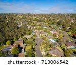 typical australian suburbian... | Shutterstock . vector #713006542