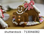 Homemade Decorated Ginger Brea...