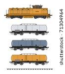 tank train | Shutterstock . vector #71304964