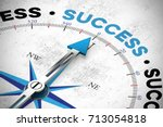 Business Success Concept With...