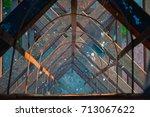interesting perspective of... | Shutterstock . vector #713067622