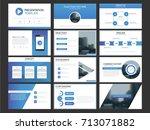 blue business presentation...