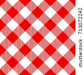 red check diagonal seamless... | Shutterstock .eps vector #713072242
