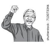 Nelson Mandela Madiba Cartoon...