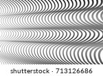 optical art abstract background ... | Shutterstock .eps vector #713126686