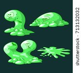 collection of ooze slime or