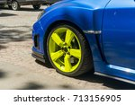 tuning the car | Shutterstock . vector #713156905