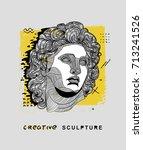 creative modern classical... | Shutterstock .eps vector #713241526