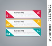 business infographic elements | Shutterstock .eps vector #713278522