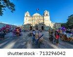 oaxaca  mexico   march 4 ...   Shutterstock . vector #713296042