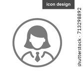 icon woman account