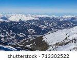 view of alps in zillertal... | Shutterstock . vector #713302522