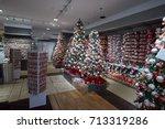 new york   september 10  macy's ... | Shutterstock . vector #713319286