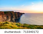 cliffs of moher | Shutterstock . vector #713340172
