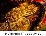 closeup photo of details of... | Shutterstock . vector #713369416