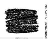 vector marker hand drawn... | Shutterstock .eps vector #713399782