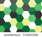 colorful honeycomb vector... | Shutterstock .eps vector #713442538