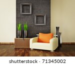 modern interior room with nice... | Shutterstock . vector #71345002