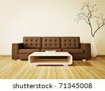 modern interior room with nice... | Shutterstock . vector #71345008