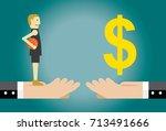 basketball player transfer | Shutterstock .eps vector #713491666