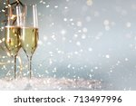 new years eve celebration... | Shutterstock . vector #713497996