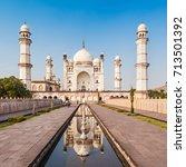 bibi qa maqbara or bibi qa...   Shutterstock . vector #713501392