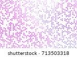 light purple  pink vector... | Shutterstock .eps vector #713503318