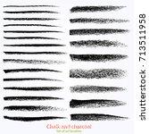 vintage vector brush on the... | Shutterstock .eps vector #713511958