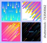 minimal geometric vector... | Shutterstock .eps vector #713543062