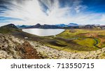 great view of highlands from... | Shutterstock . vector #713550715