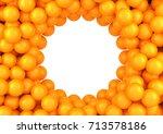 balls frame.3d illustration.   Shutterstock . vector #713578186
