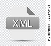 xml file | Shutterstock .eps vector #713593495