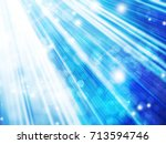 abstract background with beams... | Shutterstock . vector #713594746