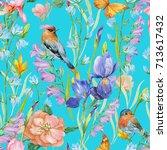 seamless pattern for print on... | Shutterstock . vector #713617432