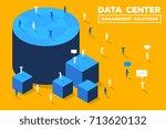 vector creative business... | Shutterstock .eps vector #713620132
