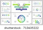process page design set | Shutterstock .eps vector #713635222