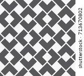 vector seamless pattern. modern ... | Shutterstock .eps vector #713670802