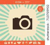 camera icon   Shutterstock .eps vector #713705932