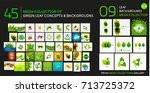 vector mega collection of... | Shutterstock .eps vector #713725372