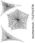 Spider Web Illustration ...