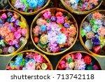 rainbow money | Shutterstock . vector #713742118