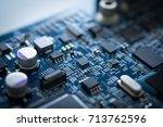 Computer Board Chip Circuit Cp...
