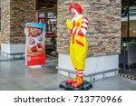 bangkok   august 22   ronald...   Shutterstock . vector #713770966