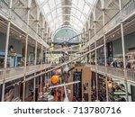 edinburgh  scotland   july 27 ... | Shutterstock . vector #713780716
