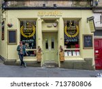 edinburgh  scotland   july 28 ... | Shutterstock . vector #713780806