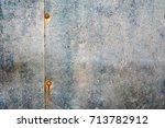 rusty metal texture | Shutterstock . vector #713782912