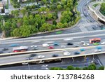 group of cars on the street...   Shutterstock . vector #713784268