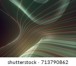 digital abstract colored lines... | Shutterstock . vector #713790862
