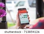 chiang mai  thailand  ...   Shutterstock . vector #713854126