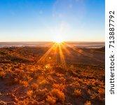 Small photo of Sunrise near Salar de Uyuni in Altiplano, Bolivia